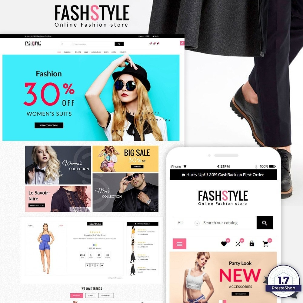 theme - Moda & Calçados - Fash Style – Fashion and Stylish Super Store - 1