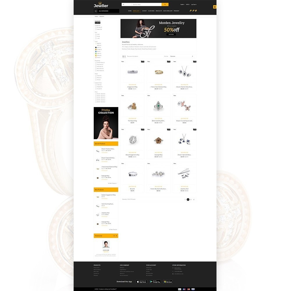 theme - Jewelry & Accessories - Jeweller Jewelry and Accessories  Super Store - 4