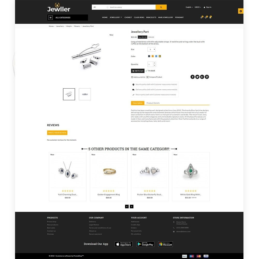 theme - Jewelry & Accessories - Jeweller Jewelry and Accessories  Super Store - 5