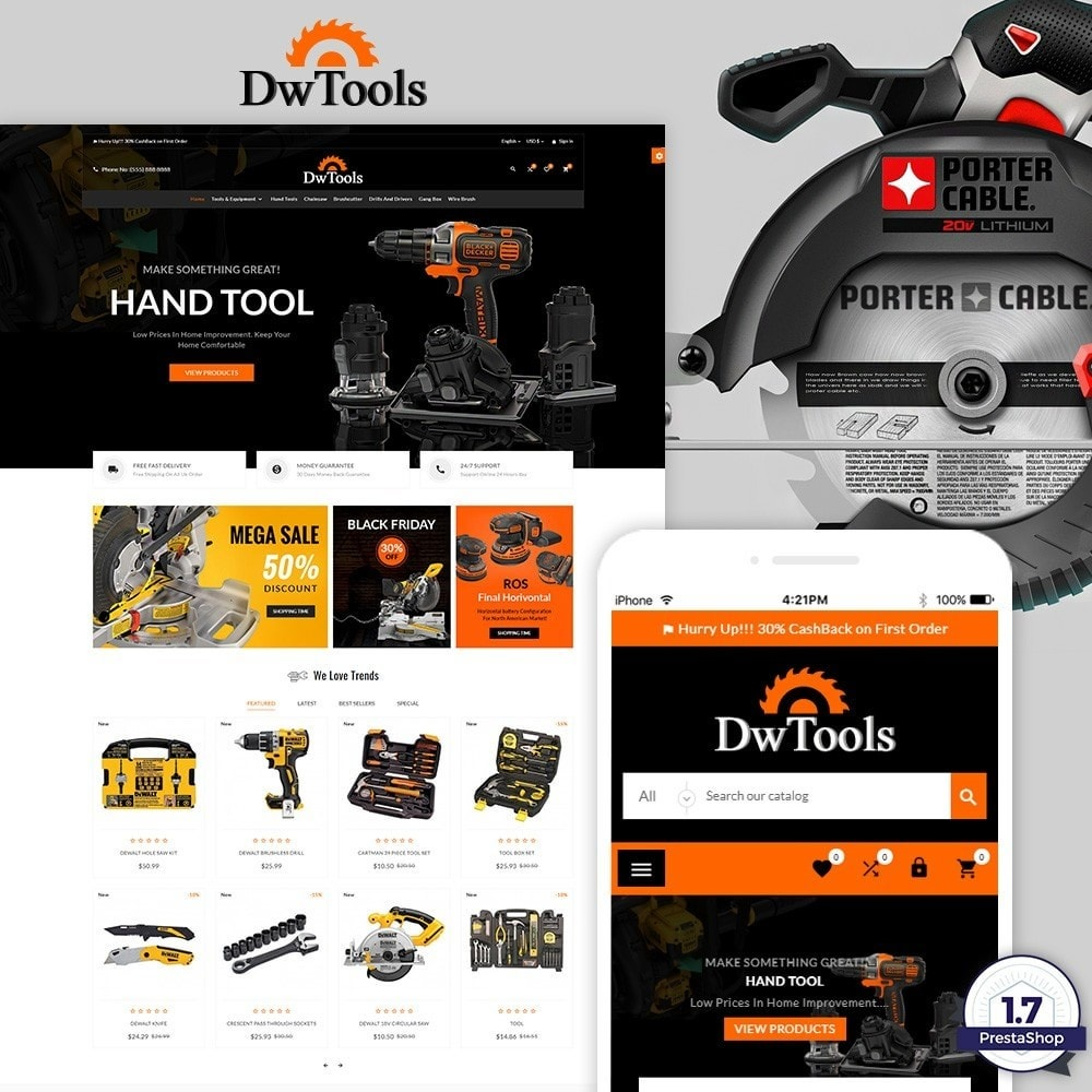DW Tools – Tools and Machine Super Store