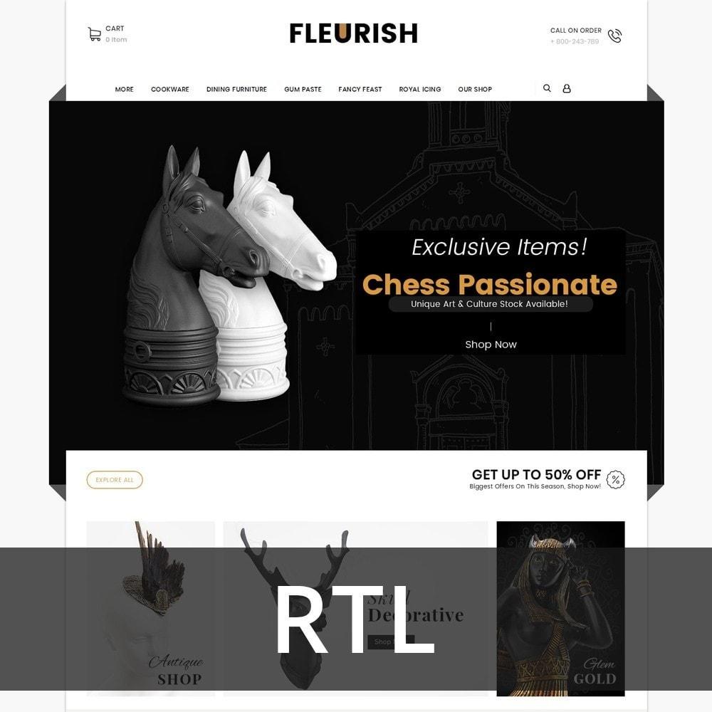 theme - Искусство и Культура - Fleurish - Art Shop - 2