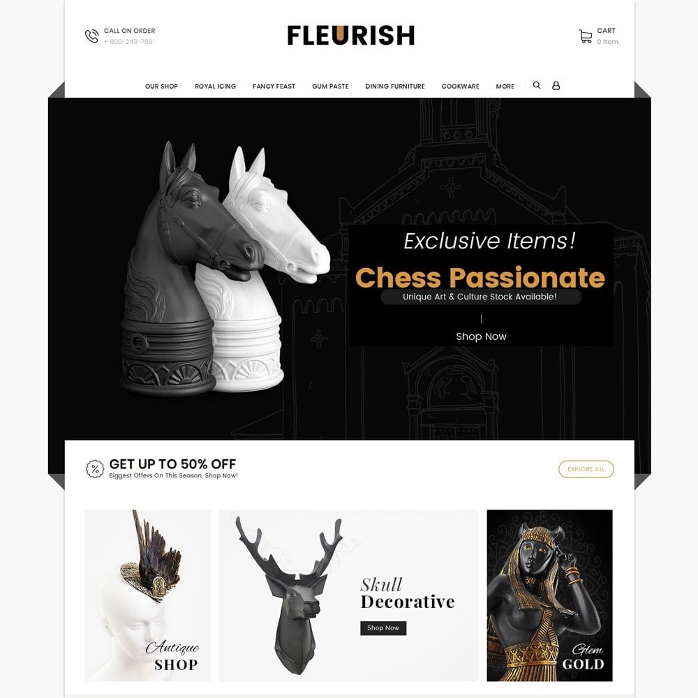 Fleurish - Art Shop