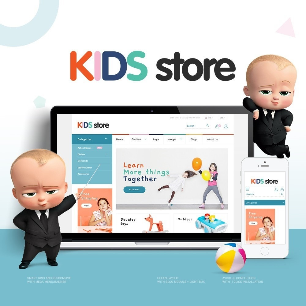 Kids & Toys Store