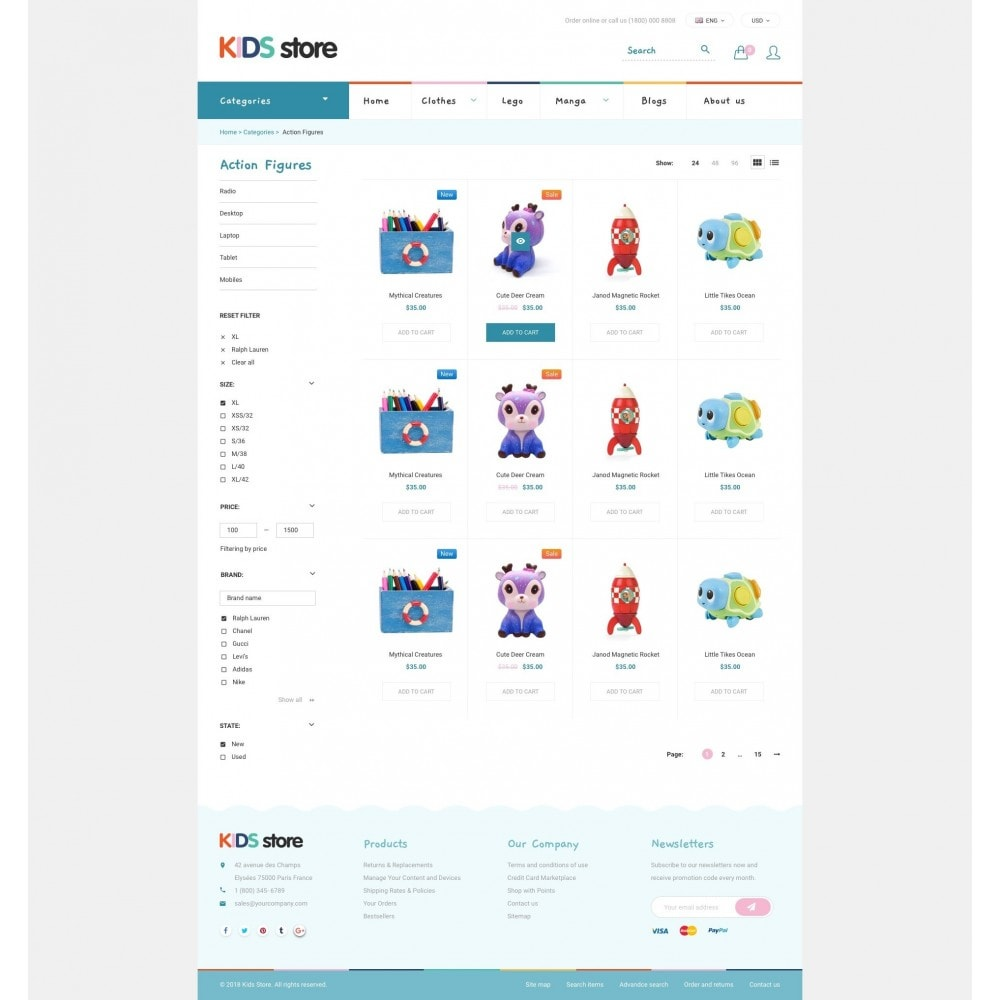theme - Enfants & Jouets - Kids & Toys Store - 3