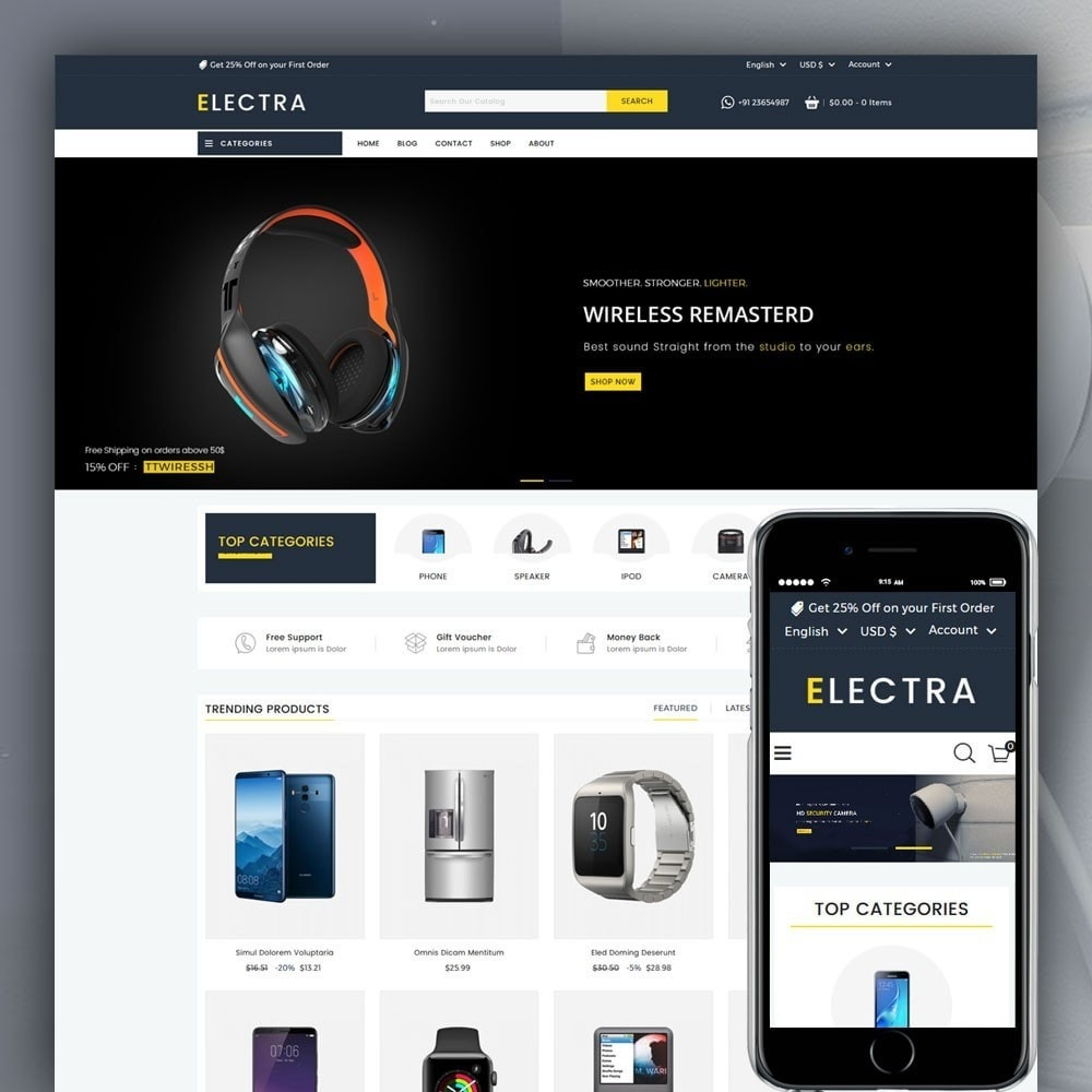 Electra Electronics Store
