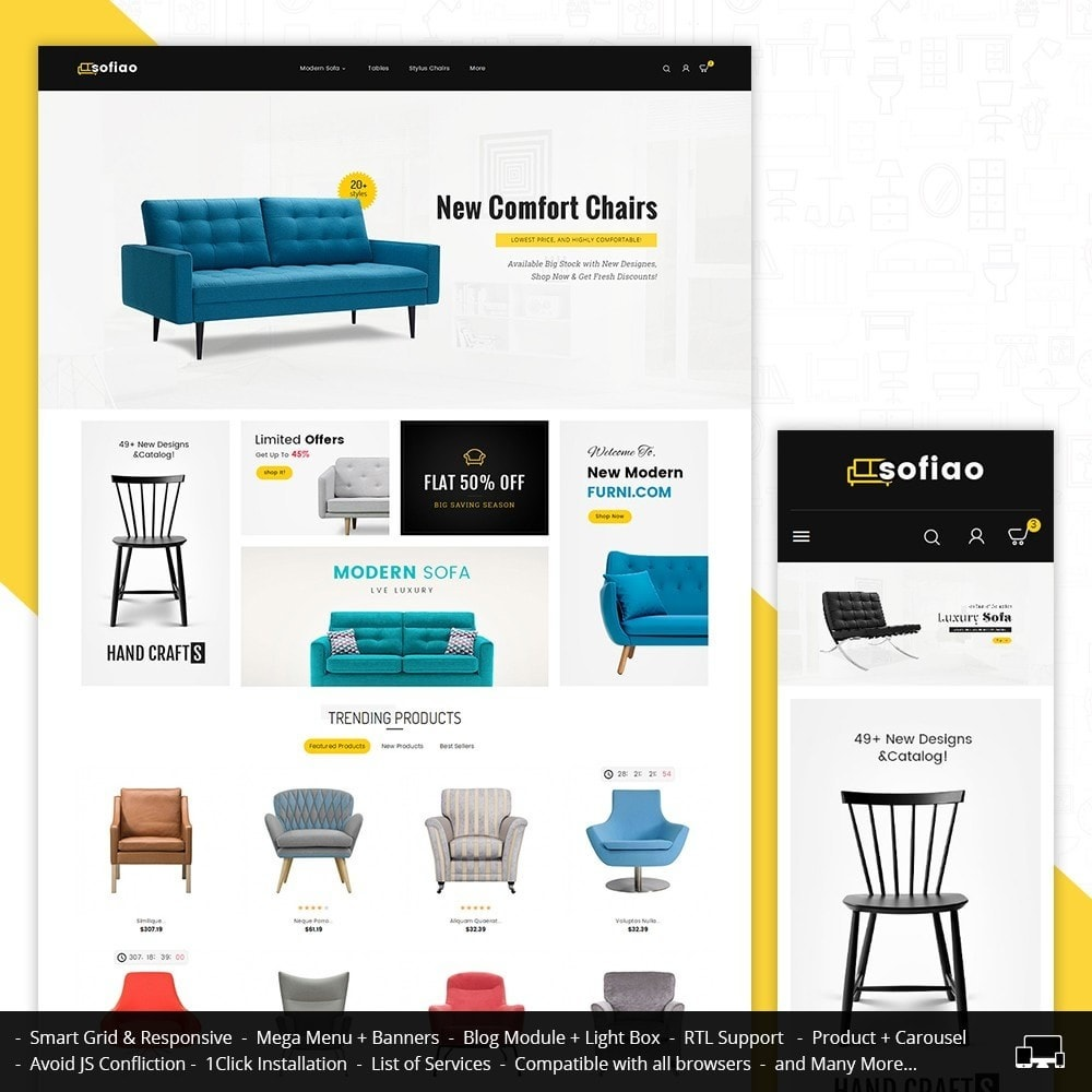 theme - Casa & Giardino - sofiao modern sofa chairs - 2