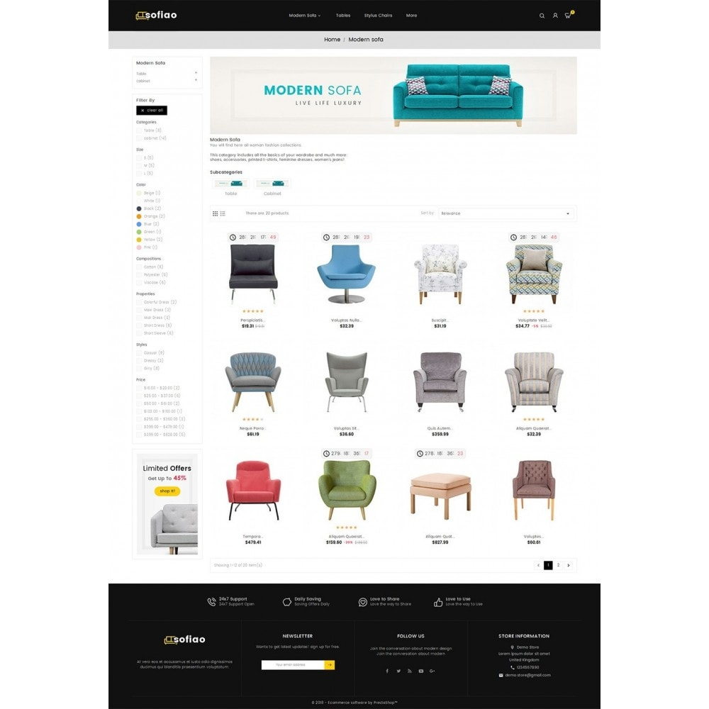 theme - Casa & Giardino - sofiao modern sofa chairs - 4