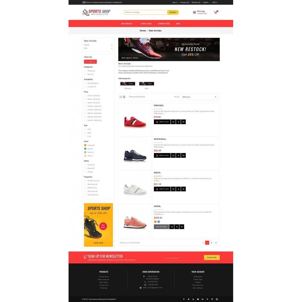 theme - Deportes, Actividades y Viajes - Sport Shoes & Footwear - 5