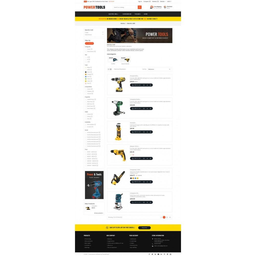 theme - Hogar y Jardín - Power Tools Store - 5