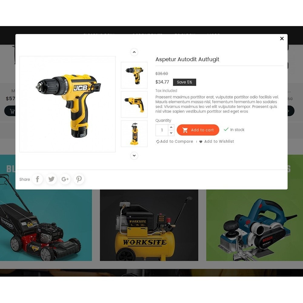 theme - Hogar y Jardín - Power Tools Store - 9