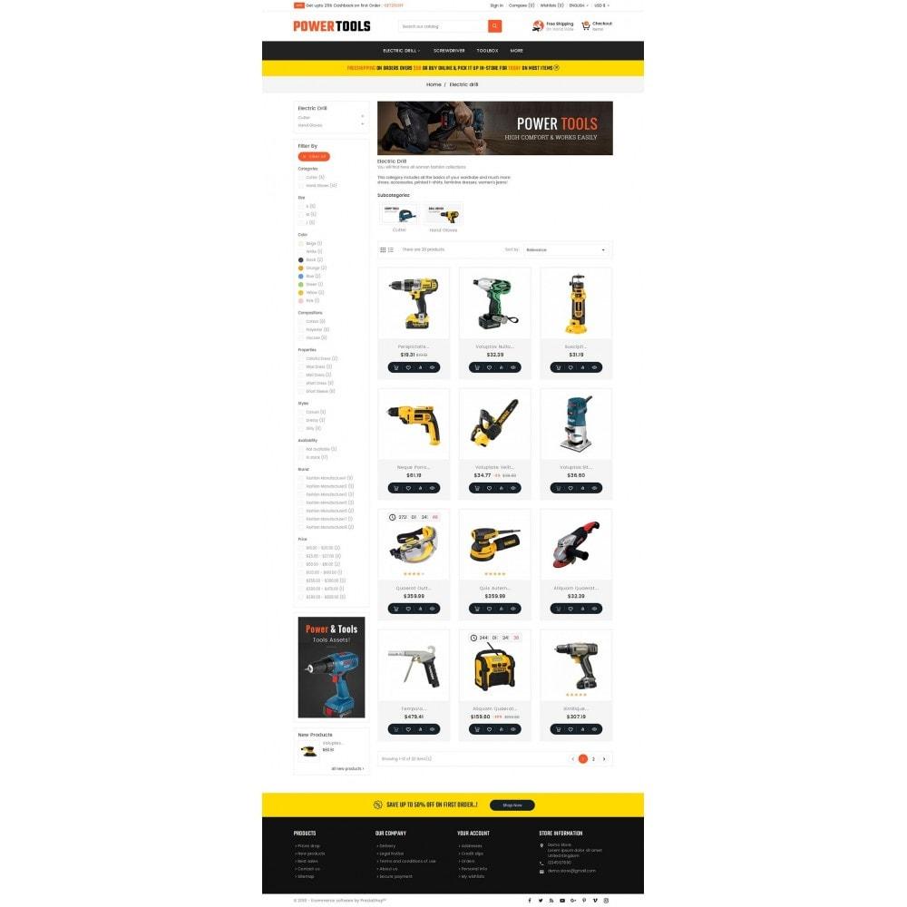 theme - Heim & Garten - Power Tools Store - 4