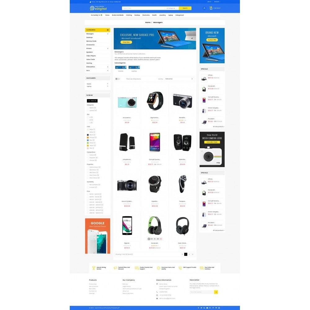 theme - Electronique & High Tech - eDigital Mega Shop Electronics - 4