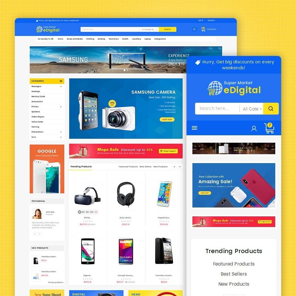 theme - Electrónica e High Tech - eDigital Mega Shop Electronics - 2