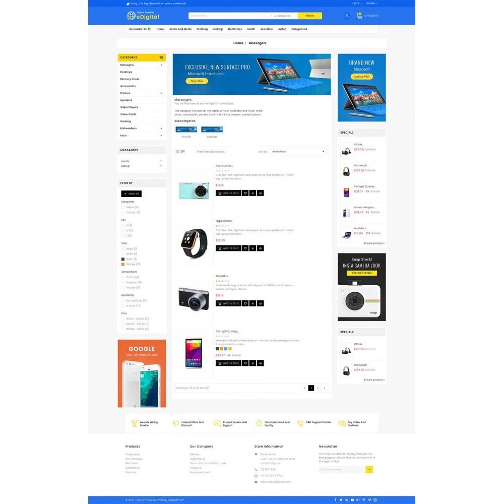 theme - Electrónica e High Tech - eDigital Mega Shop Electronics - 5