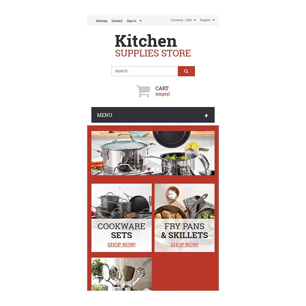 theme - Arte y Cultura - Kitchen Supplies Store - 9
