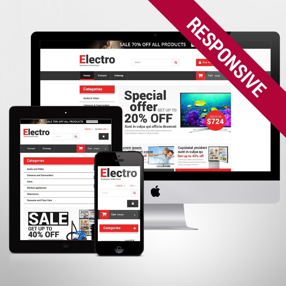 theme - Elektronica & High Tech - Home Electronics - 1