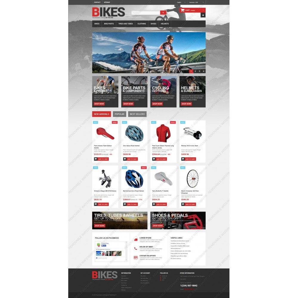 theme - Sports, Activities & Travel - Bikes Store - 5