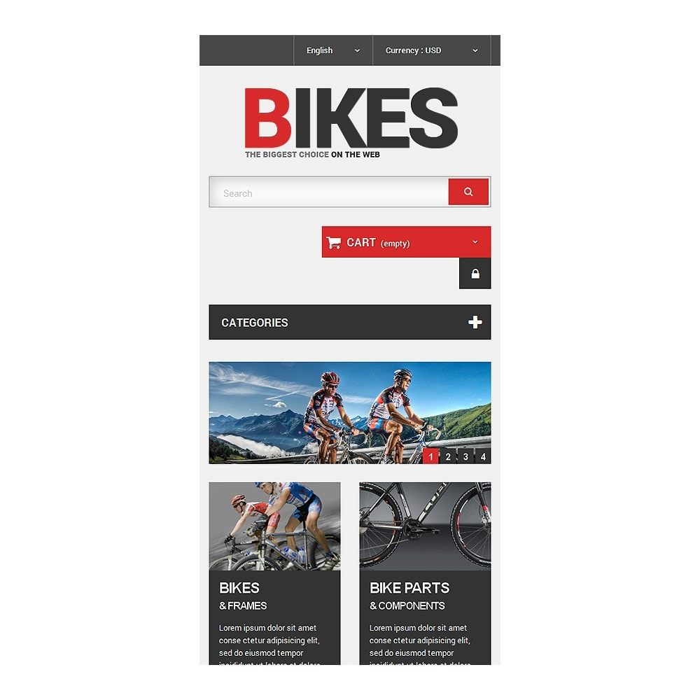 theme - Sports, Activities & Travel - Bikes Store - 8