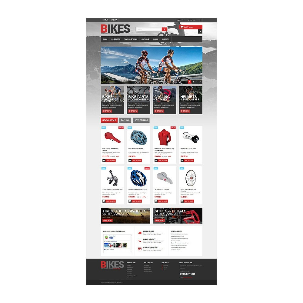 theme - Sports, Activities & Travel - Bikes Store - 10