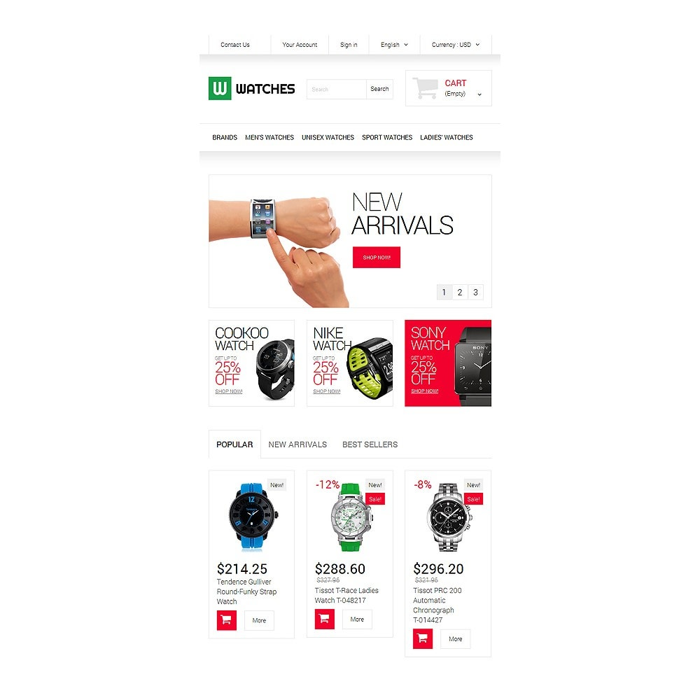 theme - Moda & Obuwie - Watches Shop - 7