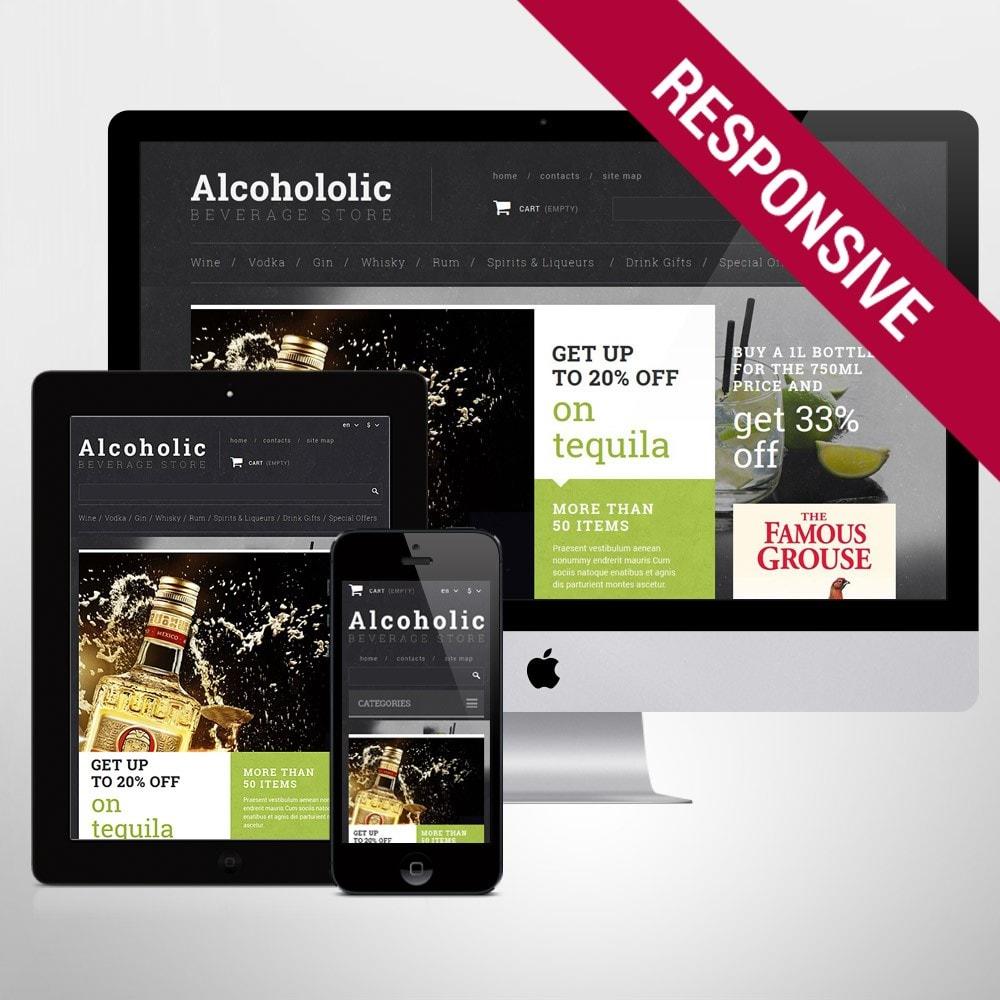 theme - Продовольствие и рестораны - Alcoholic Beverage Store - 1