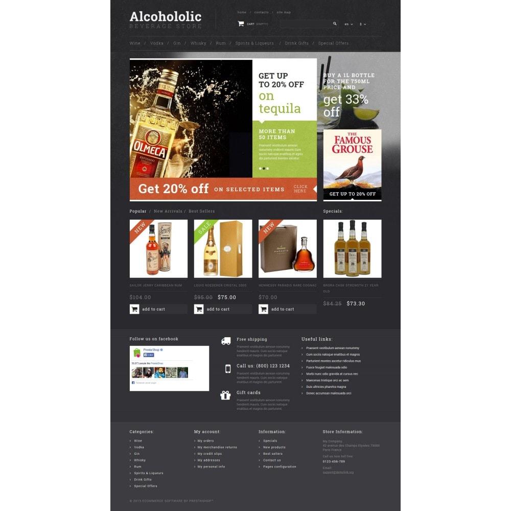 theme - Продовольствие и рестораны - Alcoholic Beverage Store - 4