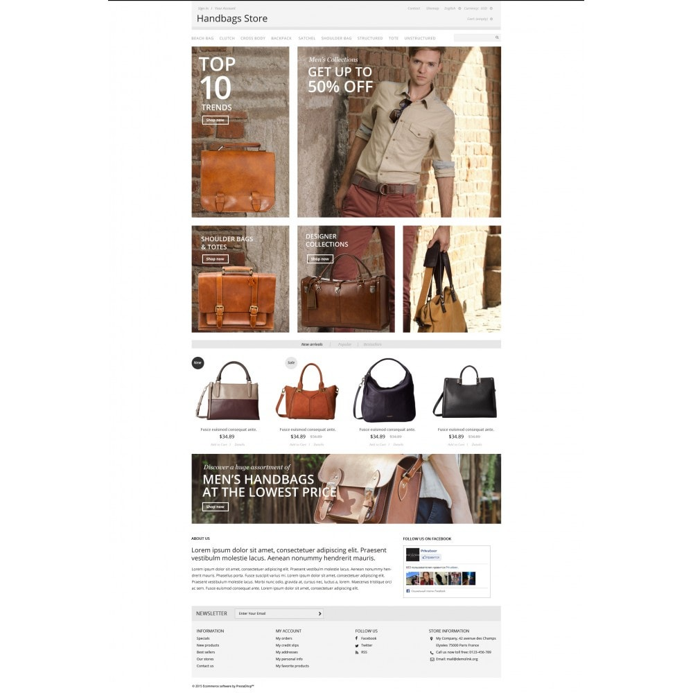 theme - Moda & Calzature - Handbags Store - 4