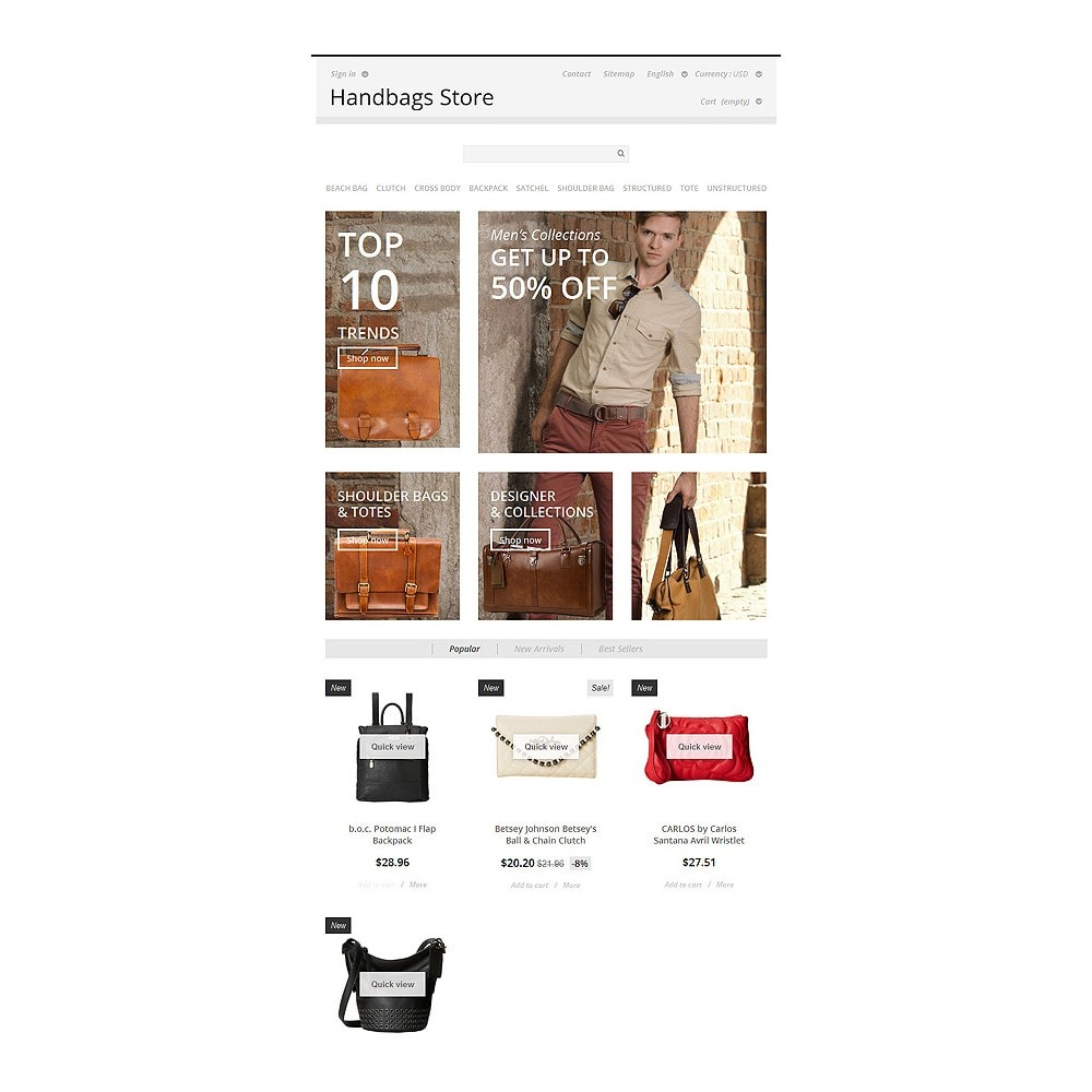 theme - Moda & Calzature - Handbags Store - 7