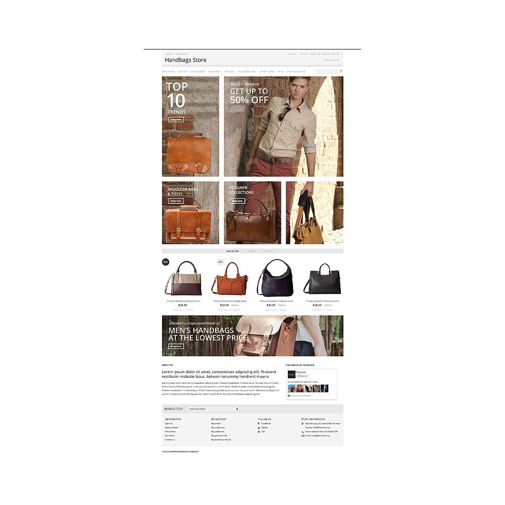 theme - Moda & Calzature - Handbags Store - 10