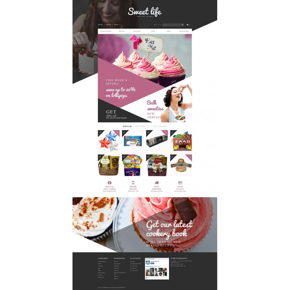 theme - Lebensmittel & Restaurants - Sweets Shop - 2