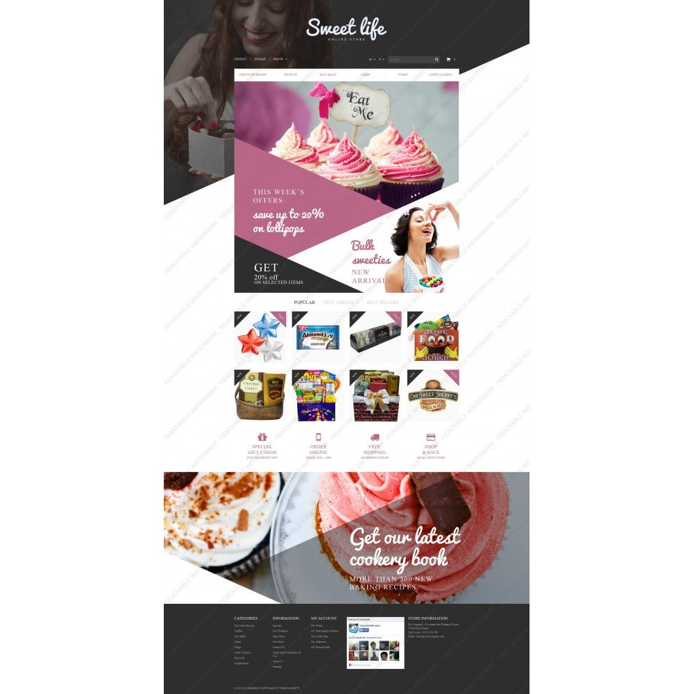 theme - Lebensmittel & Restaurants - Sweets Shop - 5