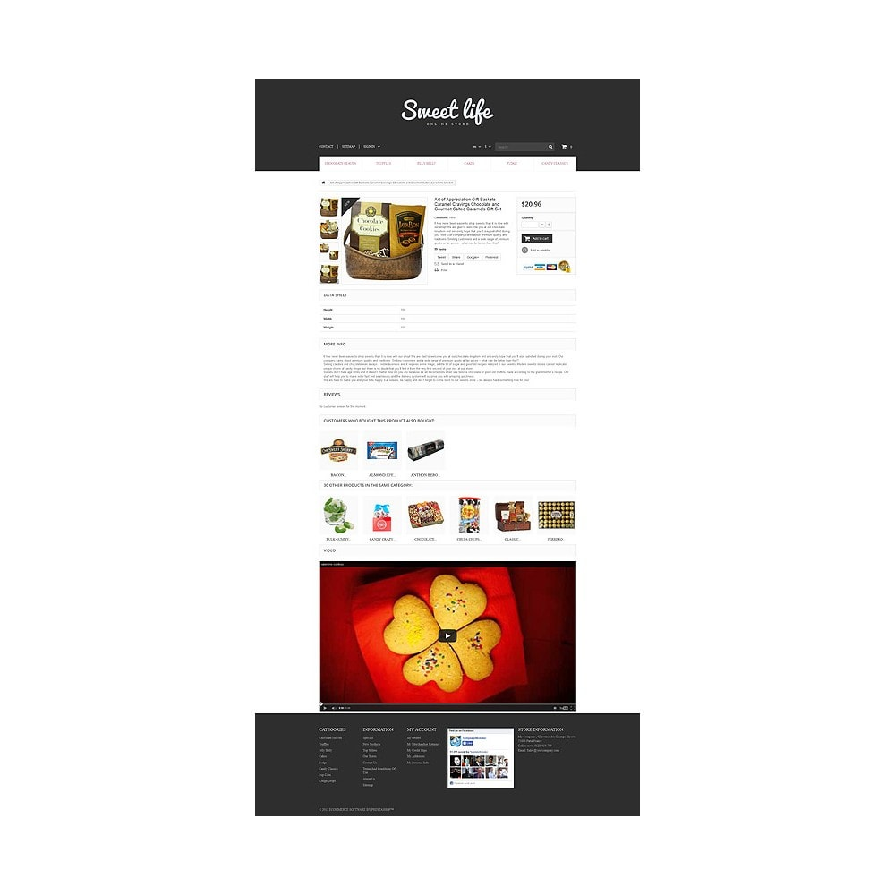 theme - Lebensmittel & Restaurants - Sweets Shop - 6