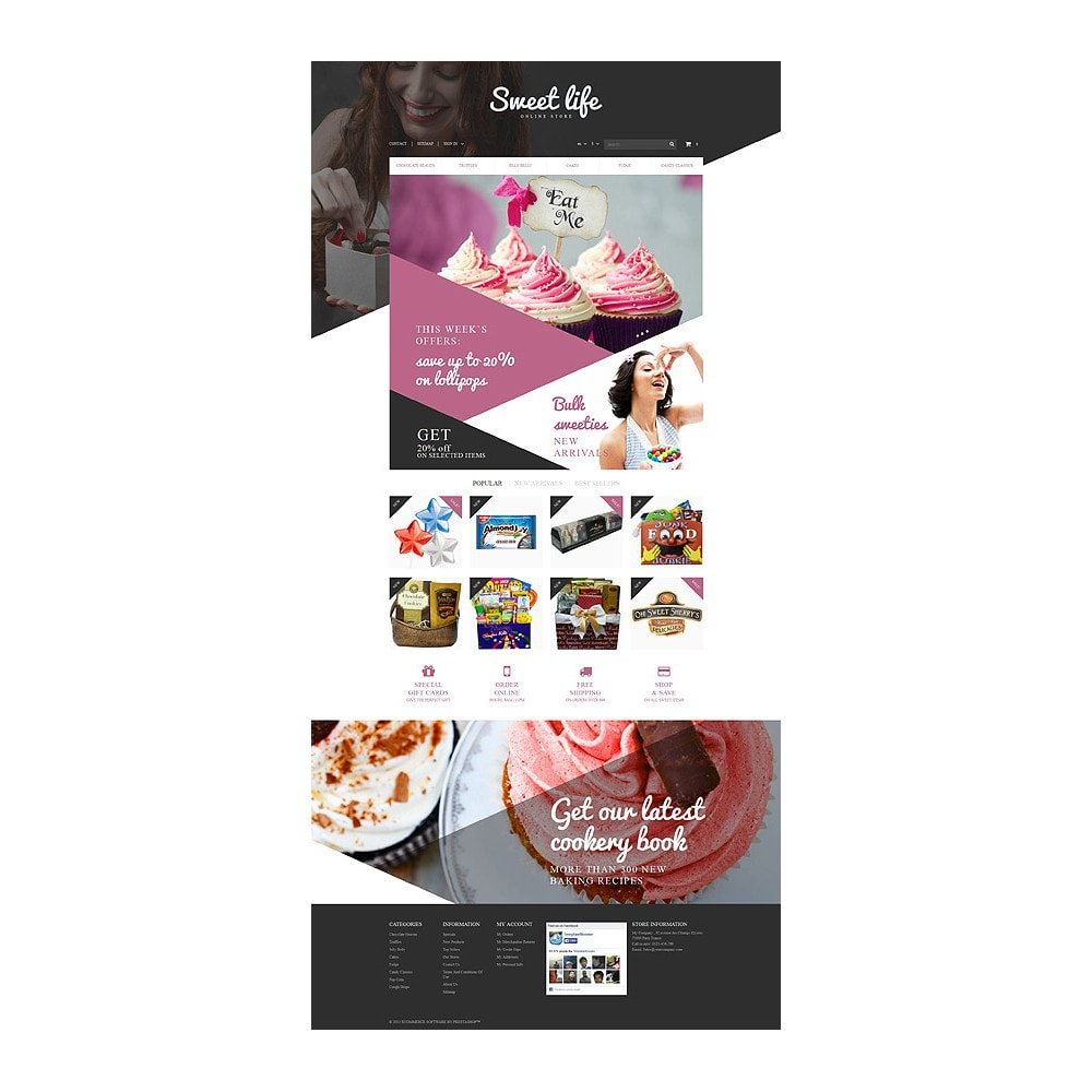 theme - Lebensmittel & Restaurants - Sweets Shop - 10