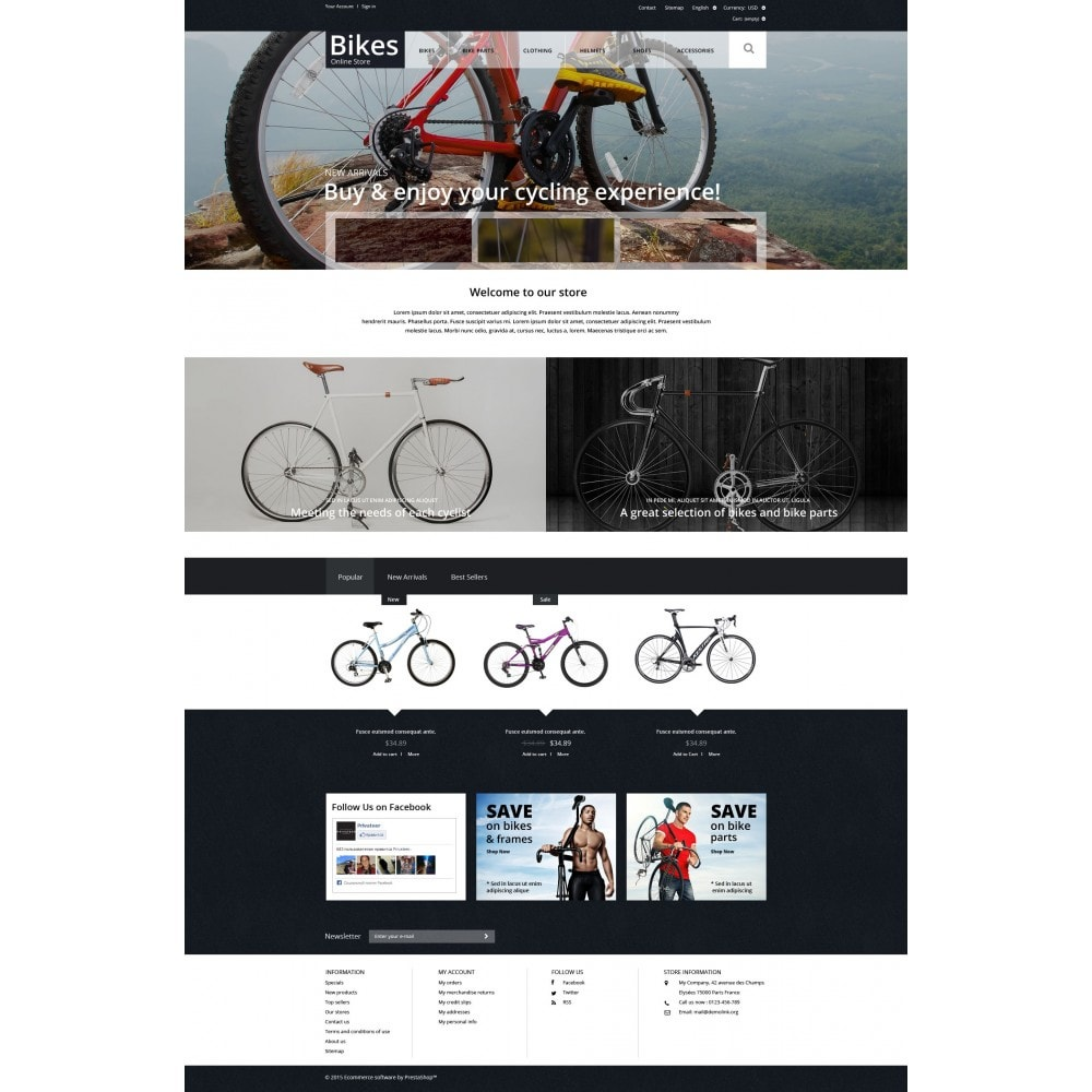 theme - Sport, Rozrywka & Podróże - Bike Store - 4