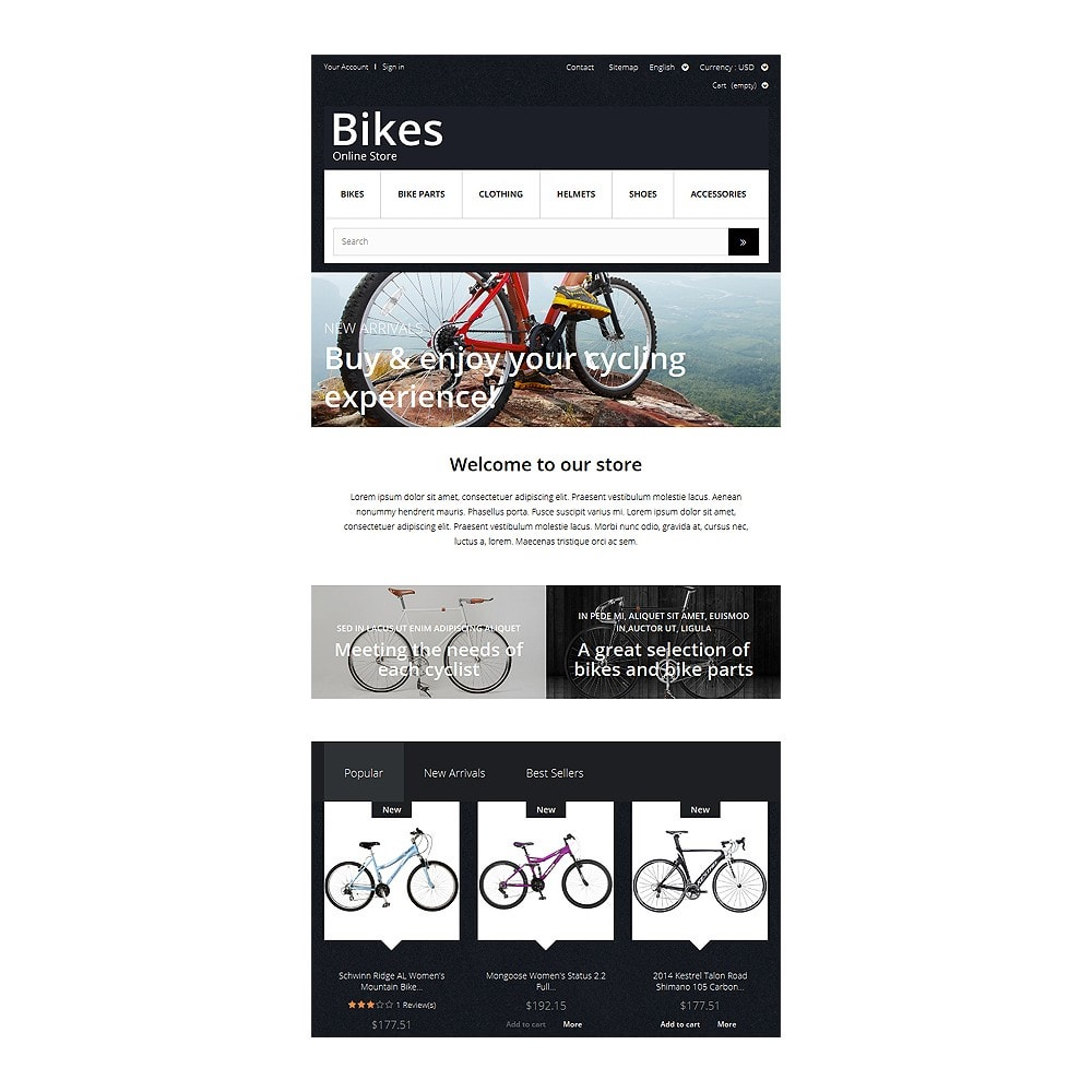 theme - Sport, Aktivitäten & Reise - Bike Store - 7