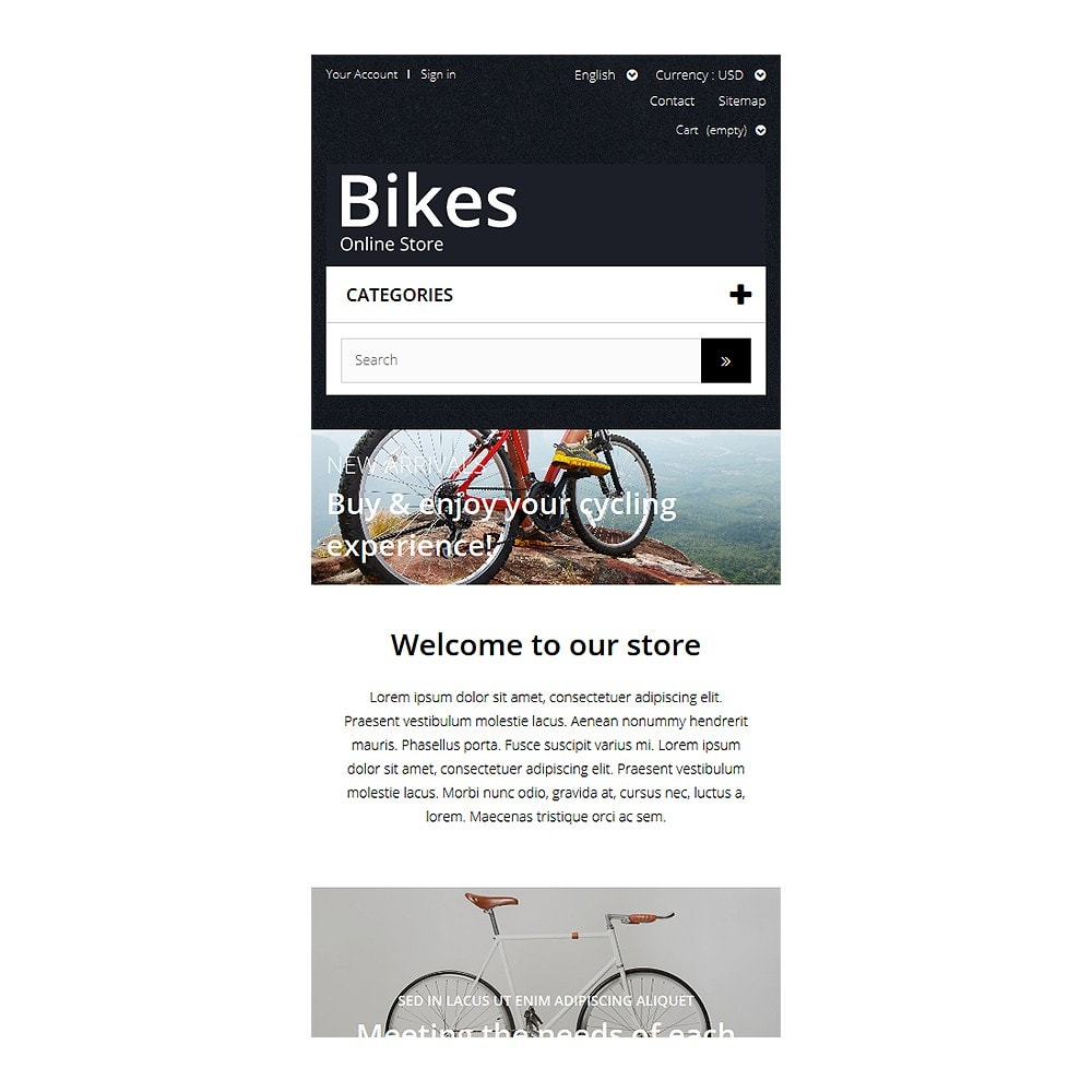 theme - Sport, Rozrywka & Podróże - Bike Store - 8