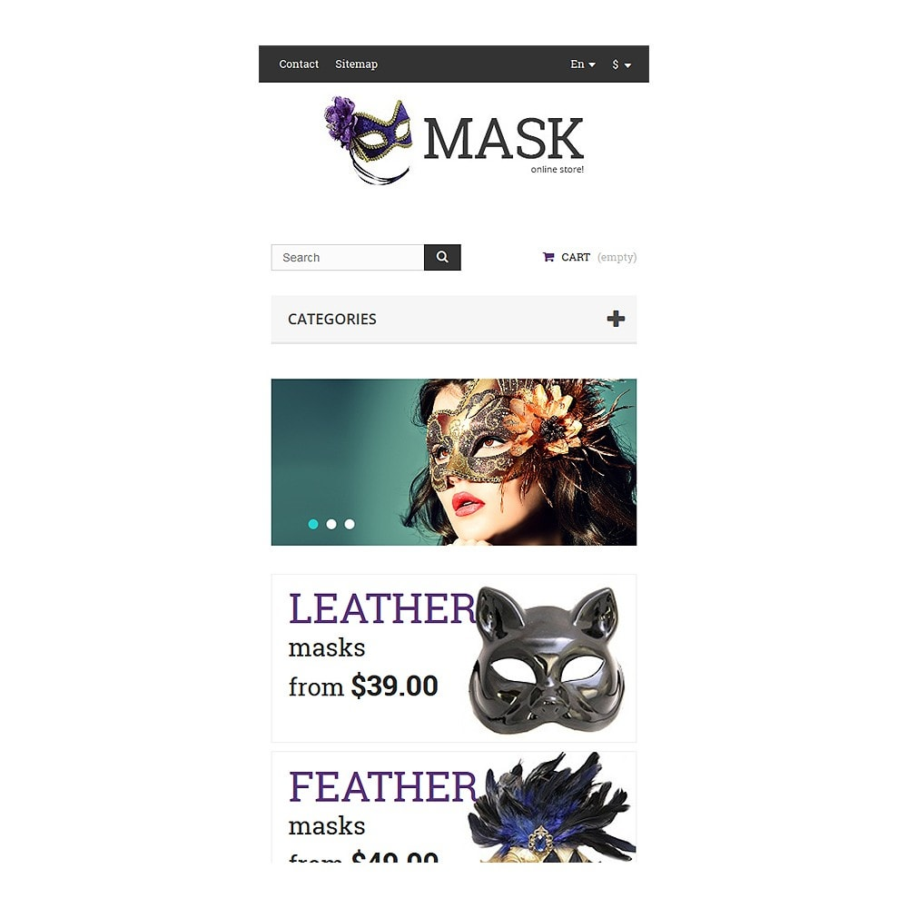 theme - Gifts, Flowers & Celebrations - Masquerade Masks - 8