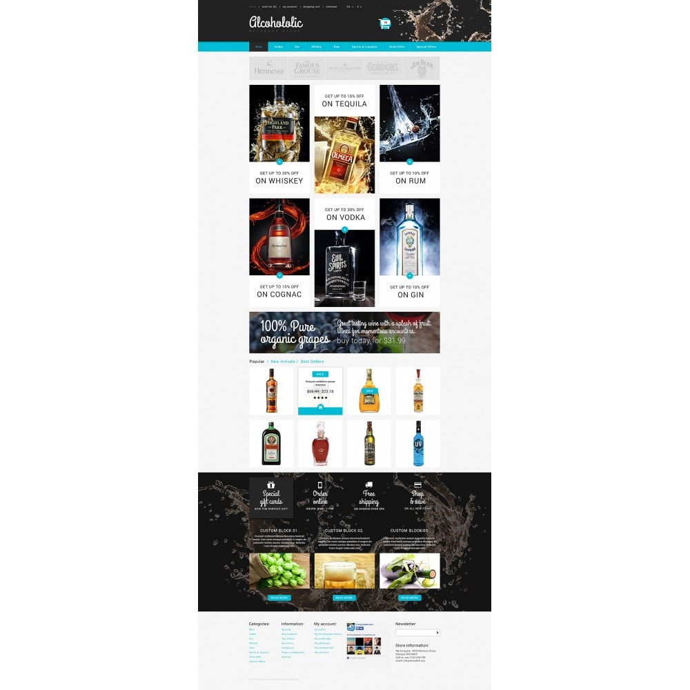 theme - Lebensmittel & Restaurants - Alkoholika-Onlineshop - 2