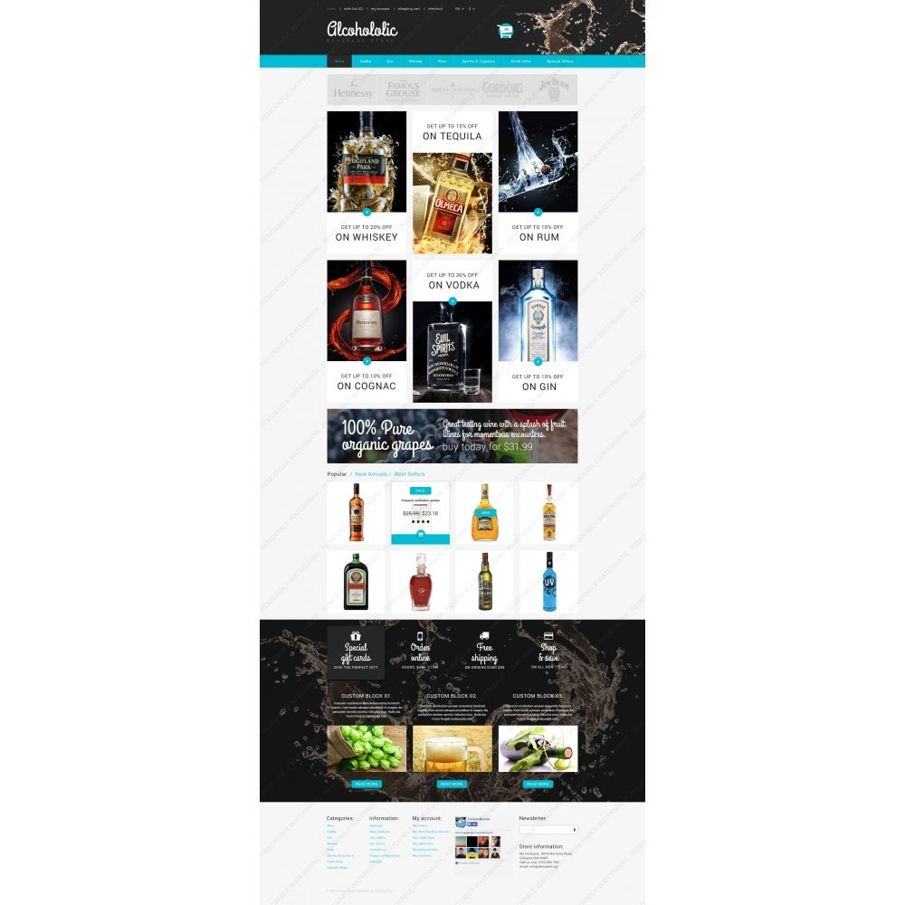 theme - Lebensmittel & Restaurants - Alkoholika-Onlineshop - 3