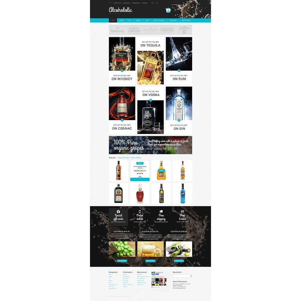 theme - Lebensmittel & Restaurants - Alkoholika-Onlineshop - 10