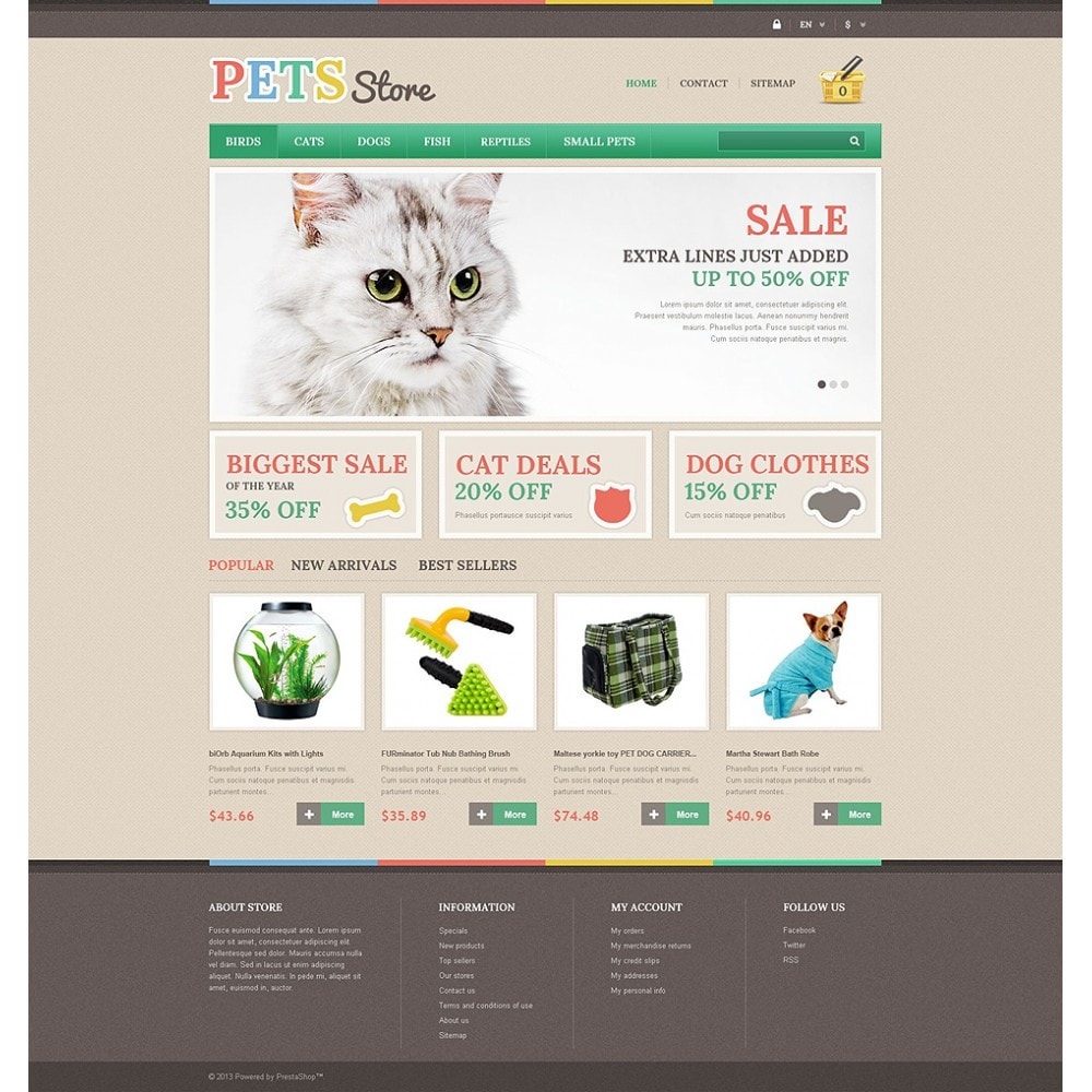 theme - Animales y Mascotas - Pets Store - 2