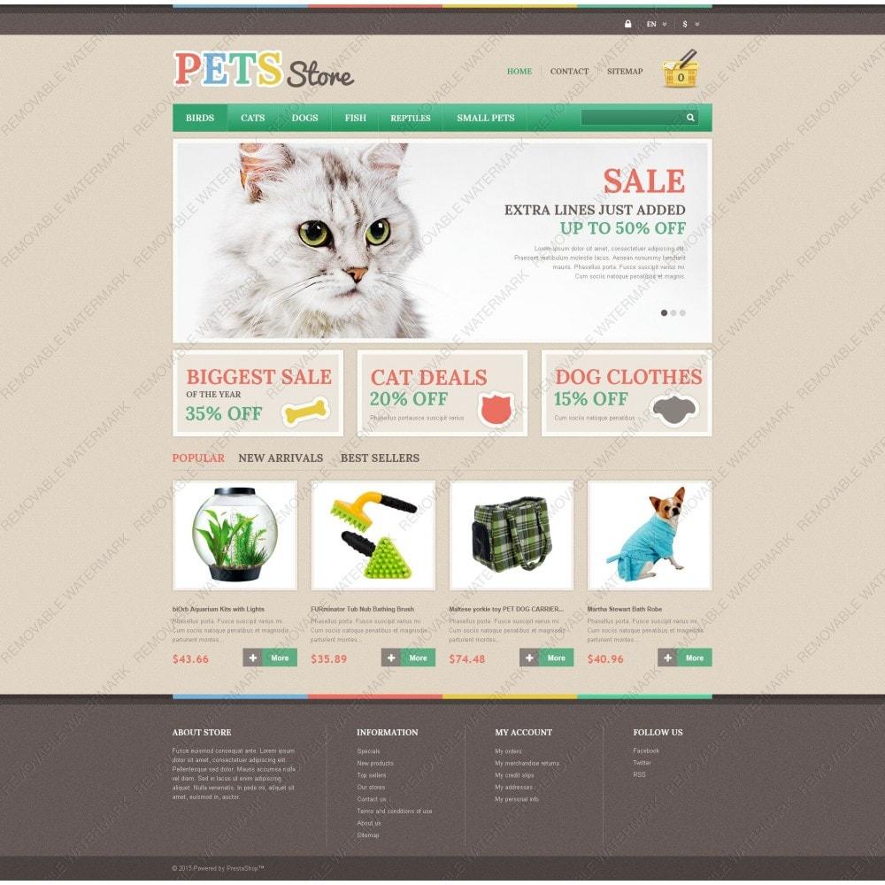 theme - Animales y Mascotas - Pets Store - 5