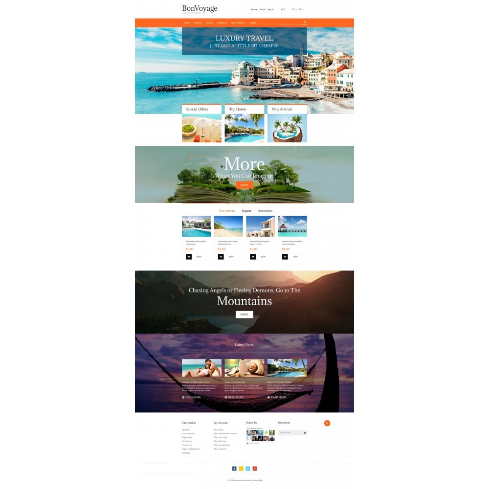theme - Sports, Activities & Travel - BonVoyage - 4