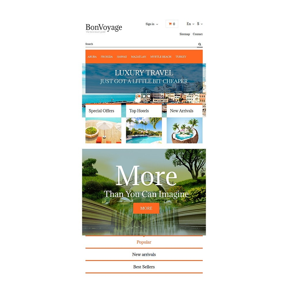 theme - Sports, Activities & Travel - BonVoyage - 7