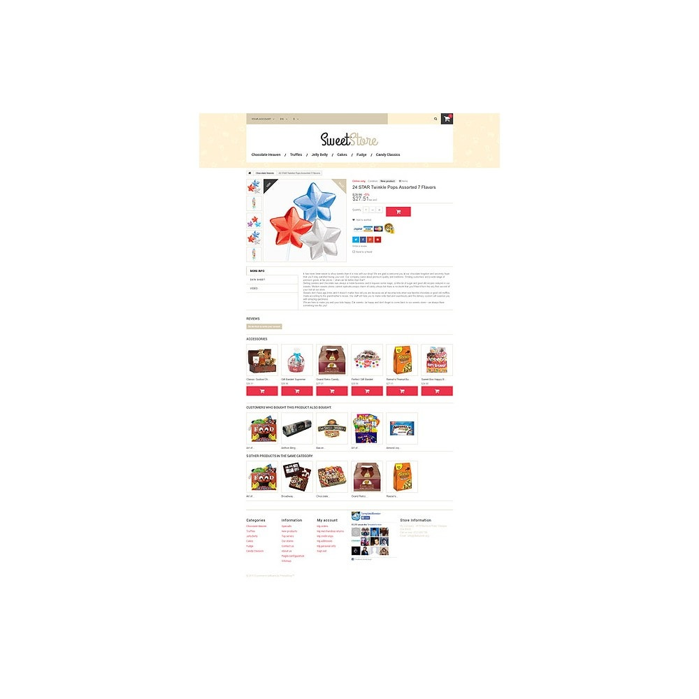 theme - Lebensmittel & Restaurants - Sweetie - 6