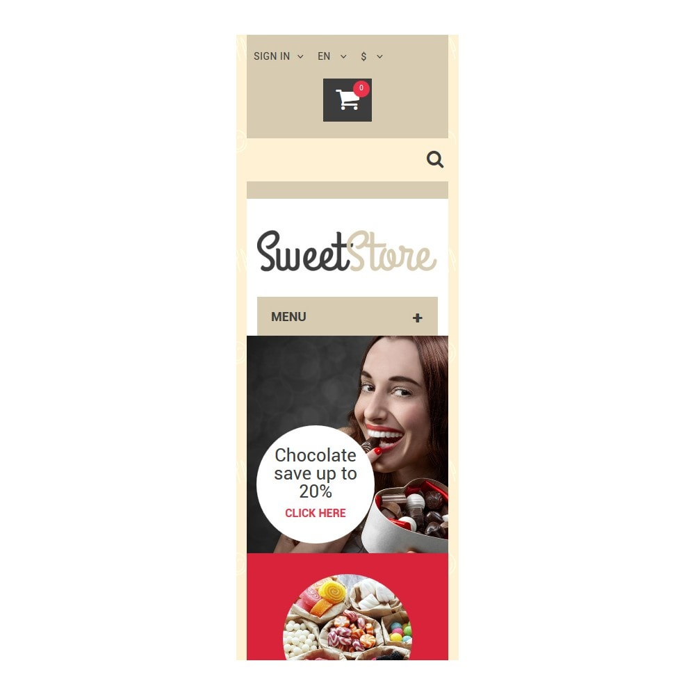 theme - Eten & Restaurant - Sweetie - 9