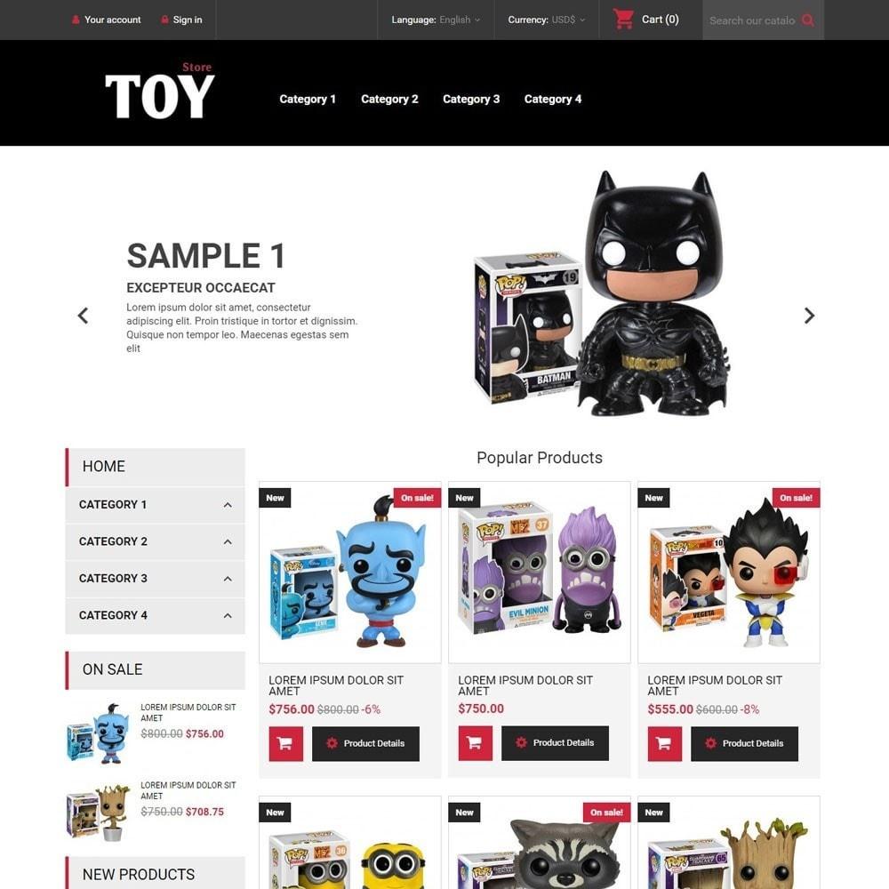 theme - Zabawki & Artykuły dziecięce - ToyStore - 1