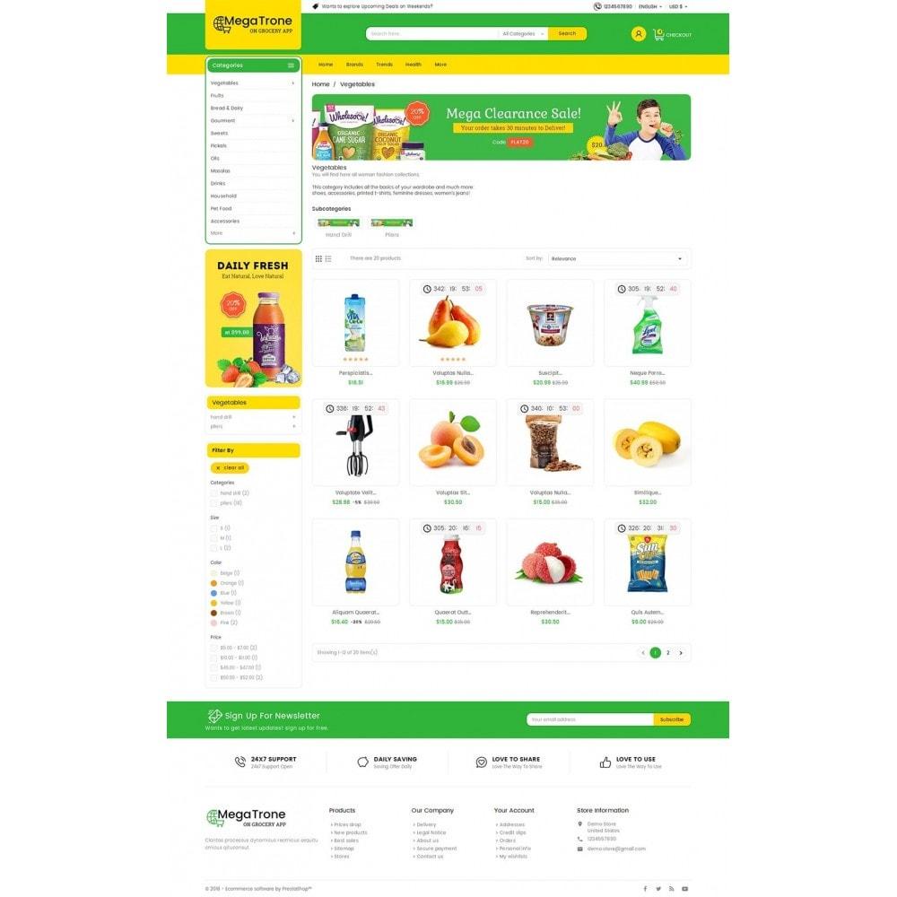 theme - Gastronomía y Restauración - Mega Trone Grocery - 4