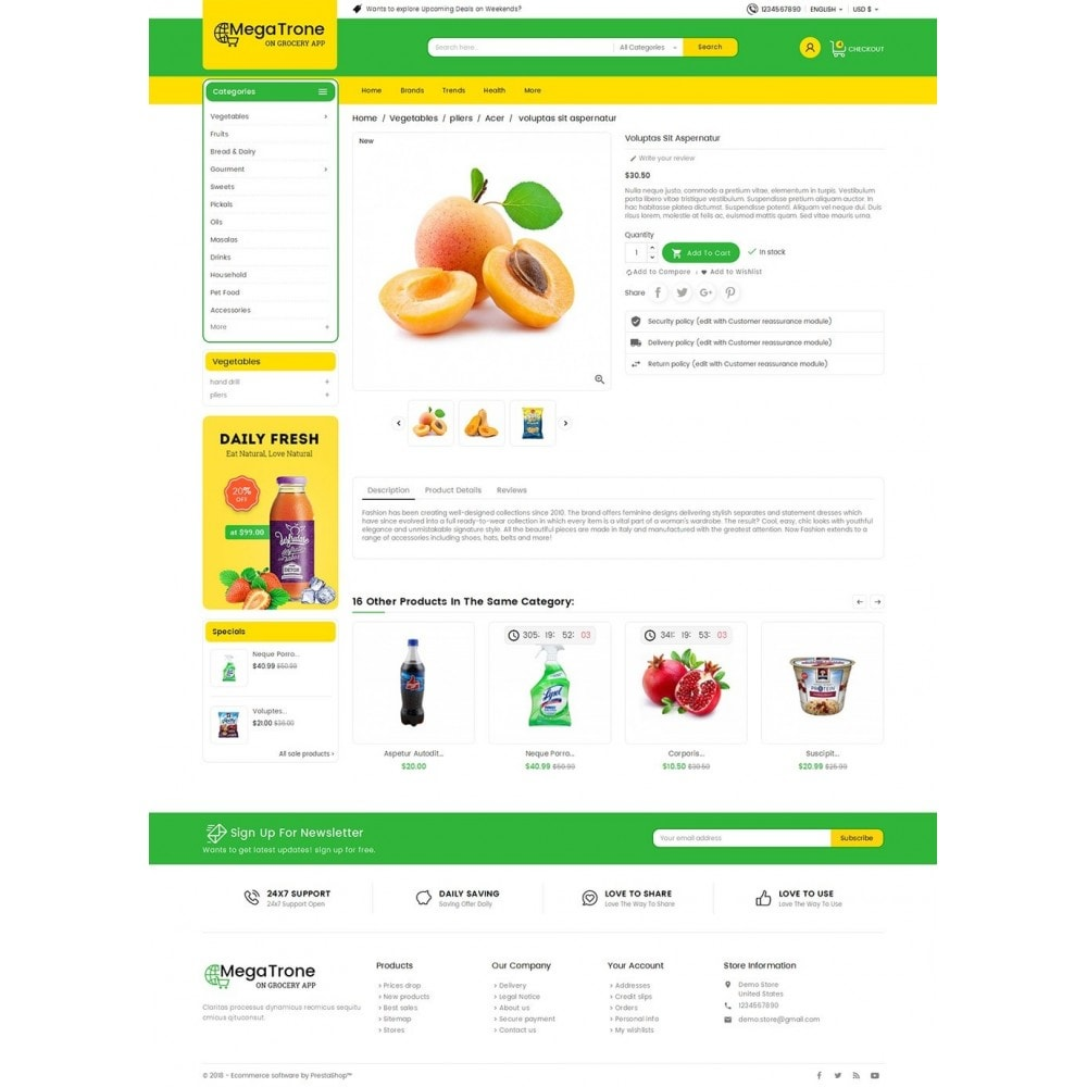 theme - Lebensmittel & Restaurants - Mega Trone Grocery - 5