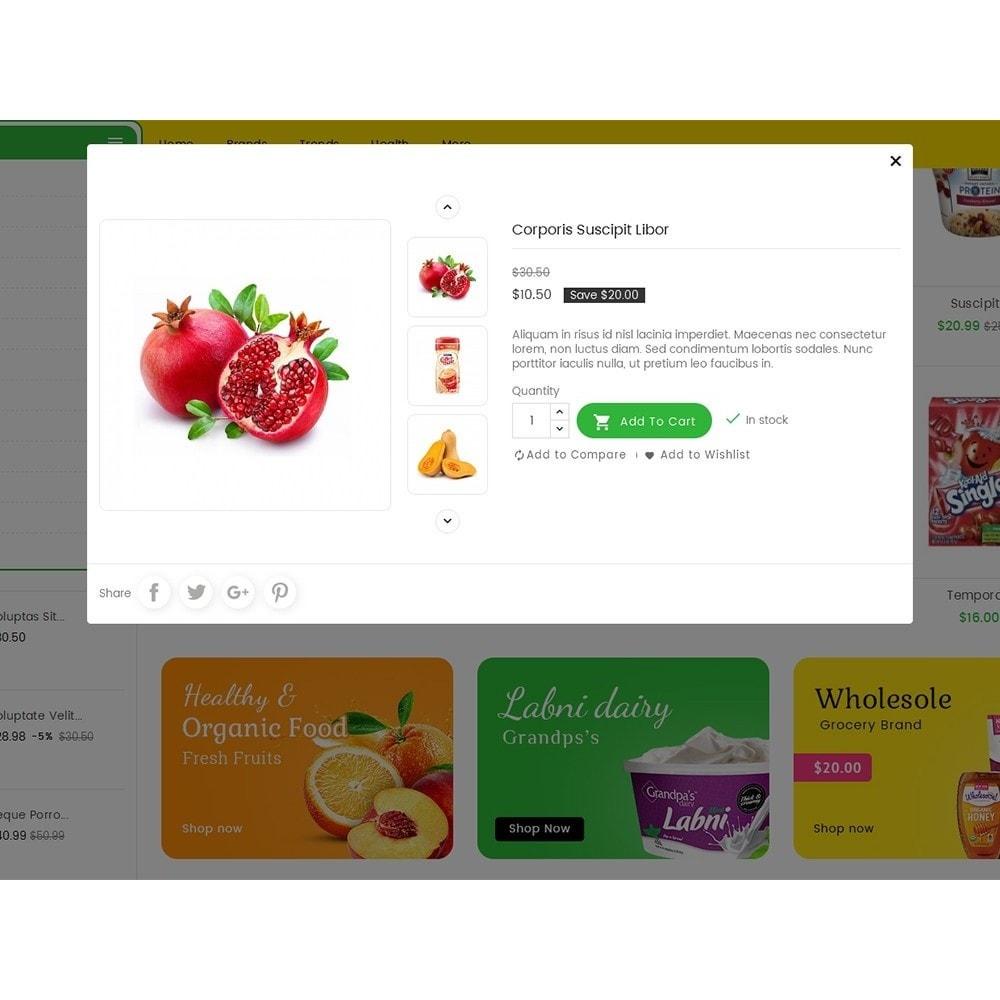theme - Lebensmittel & Restaurants - Mega Trone Grocery - 9